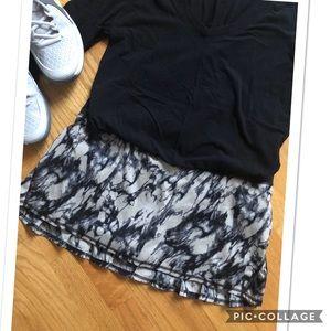 Lululemon Pace Setter Skirt, Great Granite Black
